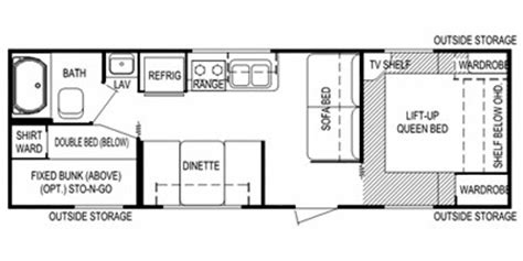 30 ft travel trailer floor plans travel trailers