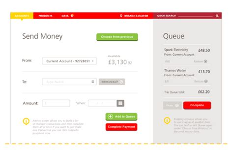 santander bank login banking santander banking redesign concept website on