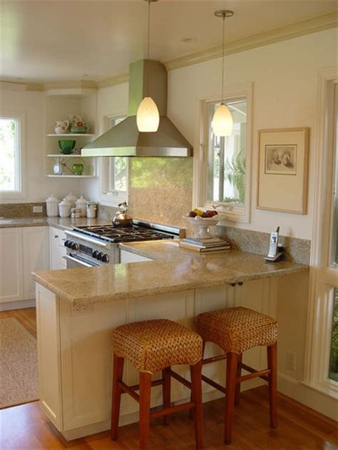 Peninsula Kitchen Ideas by Narrow Kitchen Peninsula Let S Dine In Pinterest