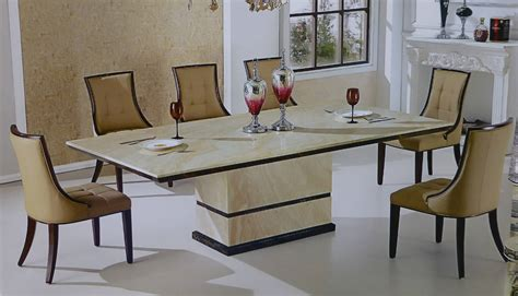Dining Room Tables Made In Usa by Canberra Italian Marble Dining Set