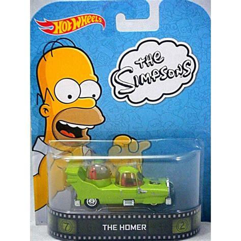 Hotwheels Retro The Simpsons The Homer wheels retro entertainment the simpsons the homer global diecast direct
