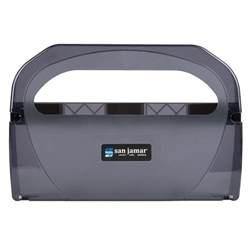Seat Cover Dispenser San Jamar Ts510tbk Toilet Seat Cover Dispenser Black Pearl