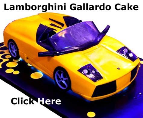 cars kuchen lamborgini cakes bizcochos kuchen and