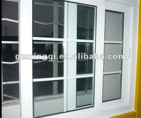 Protect Sliding Glass Door Burglary Pvc Sliding Burglar Proof Window And Door Buy Burglar Proof Window Horizontal Sliding Window