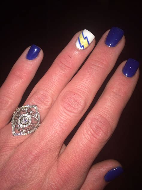 San Diego Chargers Nail
