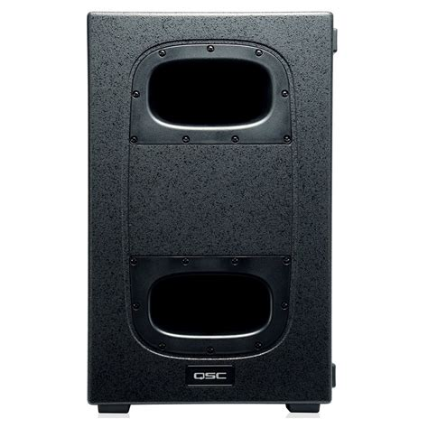Speaker Active Ks 21a Sub qsc ks212c 3600w active cardioid subwoofer