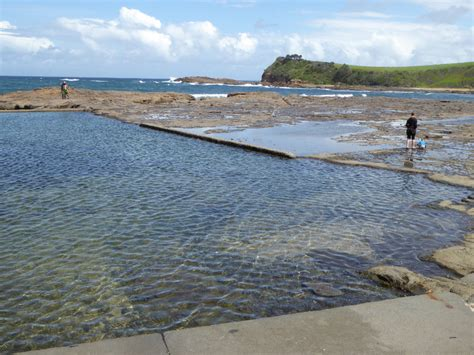boat harbor boat harbour rock pool gerringong