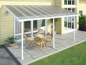 How To Build A Patio Cover Attached To House by How To Build Sloped Wood Patio Cover Attached To House