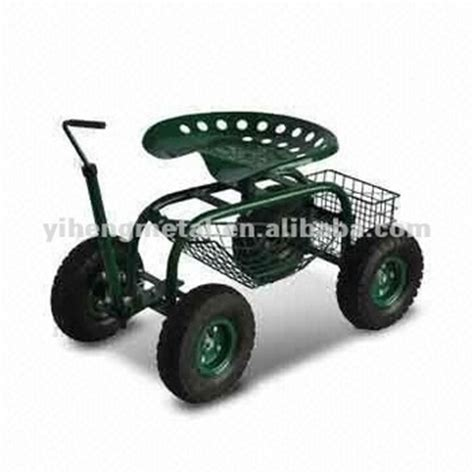 Rolling Garden Work Seat by Rolling Garden Work Seat Cart With Turnbar Tc4501f Buy