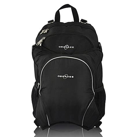 Cooler Diaperbag Two Disanto Backpack obersee bag backpack with detachable cooler in black buybuy baby