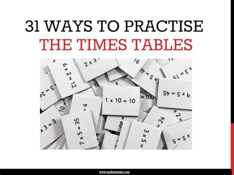 how to teach my child times tables maths tips from maths insider tips and practical
