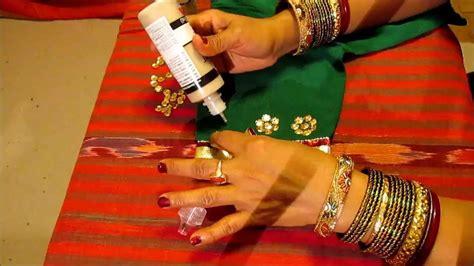 asmr   decorate saree blouse  lacetrim