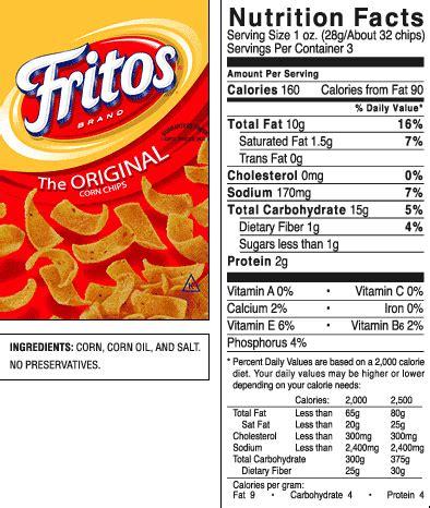 fritos 174 original corn chips