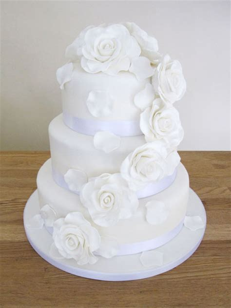 Hochzeitstorte Altrosa by Wedding Cakes The Cakery Leamington Spa