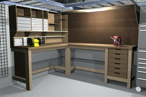 garage work table amazing garage workbench ideasgarage corner ideas storage