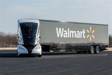 concept semi truck walmart introduces wave concept big rig w video