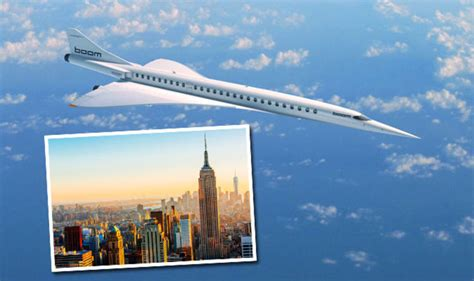 flights to new york to us in four hours with new mini concorde jet travel news