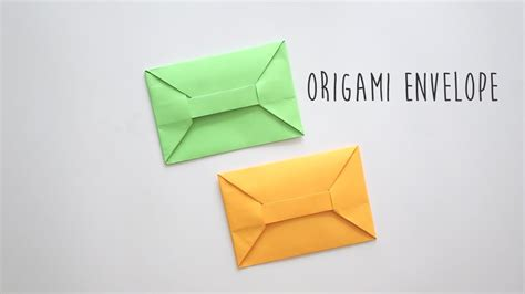 How To Make An Envelope Origami - origami envelope a4 sheet
