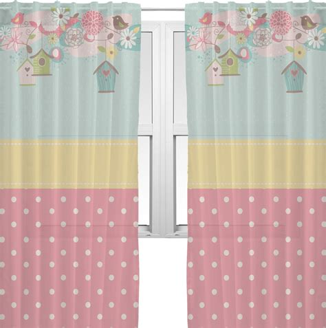 easter kitchen curtains easter birdhouses window sheer scarf valance personalized
