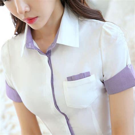 uniforme blusas para damas 17 mejores ideas sobre camisas para uniformes en pinterest