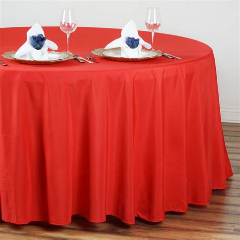 cheap table clothes 6 pcs wholesale lot 108 quot polyester tablecloths