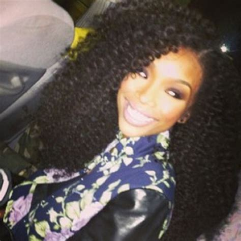type of wavy hair brandy norwood wears 5 types of weave which one suits your personality best