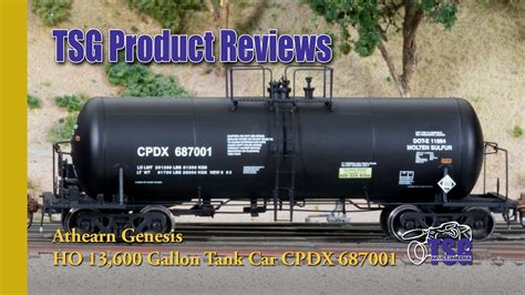 genesis product reviews ho scale tank car athearn genesis product review