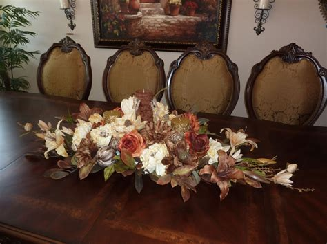 table arrangements best dining room table floral arrangements ideas
