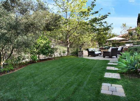 Backyard Ideas Less Grass Artificial Lawn Backyard Landscape Ideas 8 Lawn Less