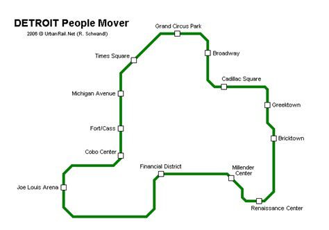 detroit people mover map 17 best images about detroit people mover on pinterest