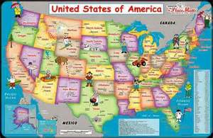 tourist map of america indie30 day 17 roadside attractions national parks or