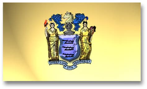 new jersey state colors the nj state flag