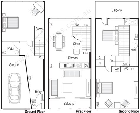 Floor Plans With Dimensions residential floorplans