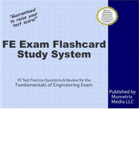 fe exam flashcard study system fe test practice questions  review   fundamentals