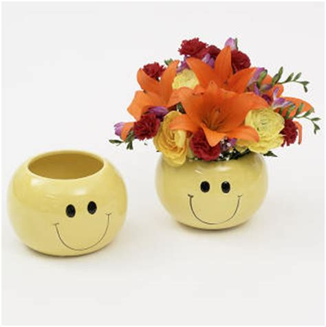 6 quot smiley vase floral supply syndicate floral