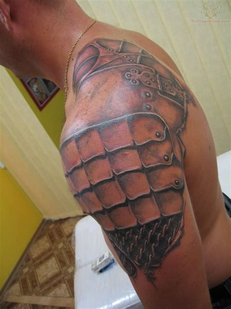 armor shoulder tattoo armor images designs