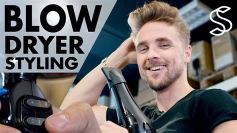 how to easy blowout blowdry routine wet to dry youtube hair dry routine step by step men s hair tutorial easy