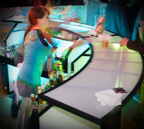 Light Up Bar Top top shelf to you personal bartenders of southern oregon