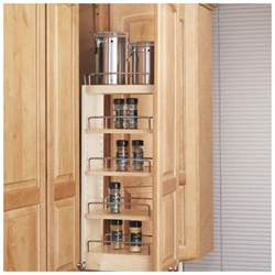 Kitchen Cabinet Sliding Organizers Wood Kitchen Cabinet Storage Organizer Sliding Pull Out Adjustable Shelf Shelves Ebay
