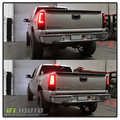 2004 chevy silverado lights 2003 2006 chevy silverado 1500 2500hd 3500 black led