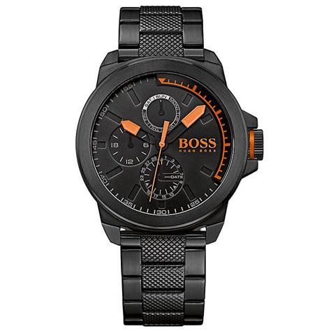 Hugo Boss Orange Men's Black Stainless Steel Bracelet Watch   H.Samuel