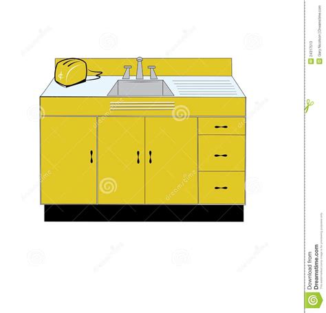 retro kitchen sink retro kitchen sink stock photos image 24317513
