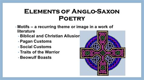 themes in anglo saxon literature introduction to the anglo saxon lifestyle ppt video
