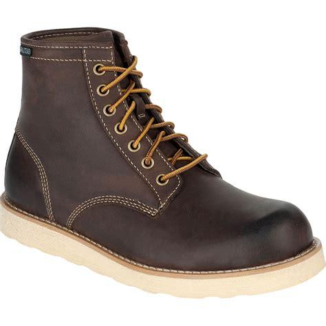 eastland work boots eastland s barron plain toe work boots work