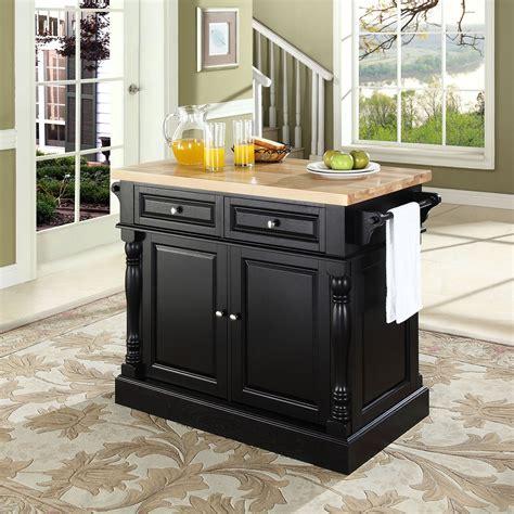 Value City Furniture Kitchen Islands Warren Kitchen Island Black Value City Furniture