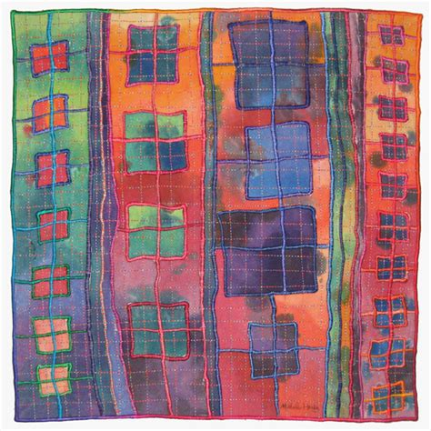 Mixed Media Quilts by Ladders Gallery Michele Hardy Quilts Fiber