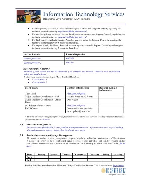 ola document template service level agreement template payroll service level