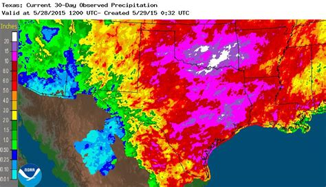 texas rainfall map wettest month in texas 23 dead 9 missing river levels dangerously high floodlist