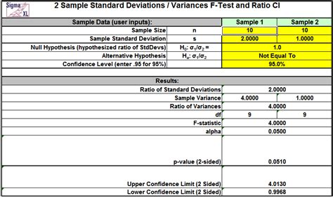 Sigmaxl Product Features Statistical Templates sigmaxl product features statistical templates in