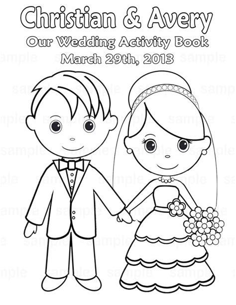 printable wedding activity book template printable personalized wedding coloring activity book